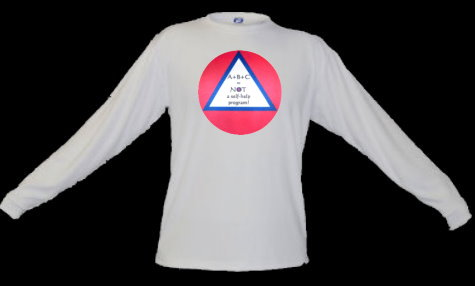 Alcoholics Anonymous, recovery, AA inspired shirt, Self Help