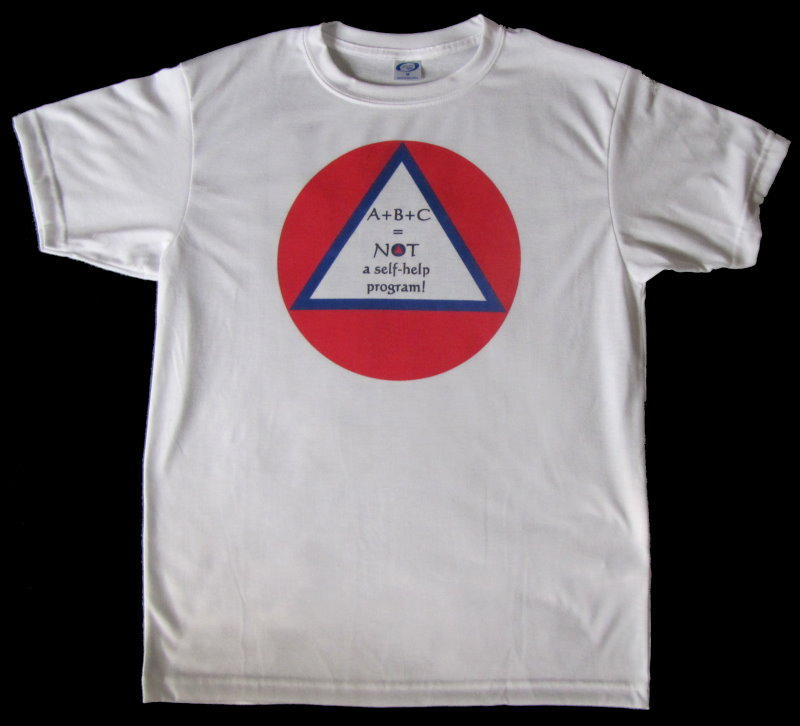 "Alcoholics Anonymous, recovery, AA inspired ""Not Self Help"" shirt"